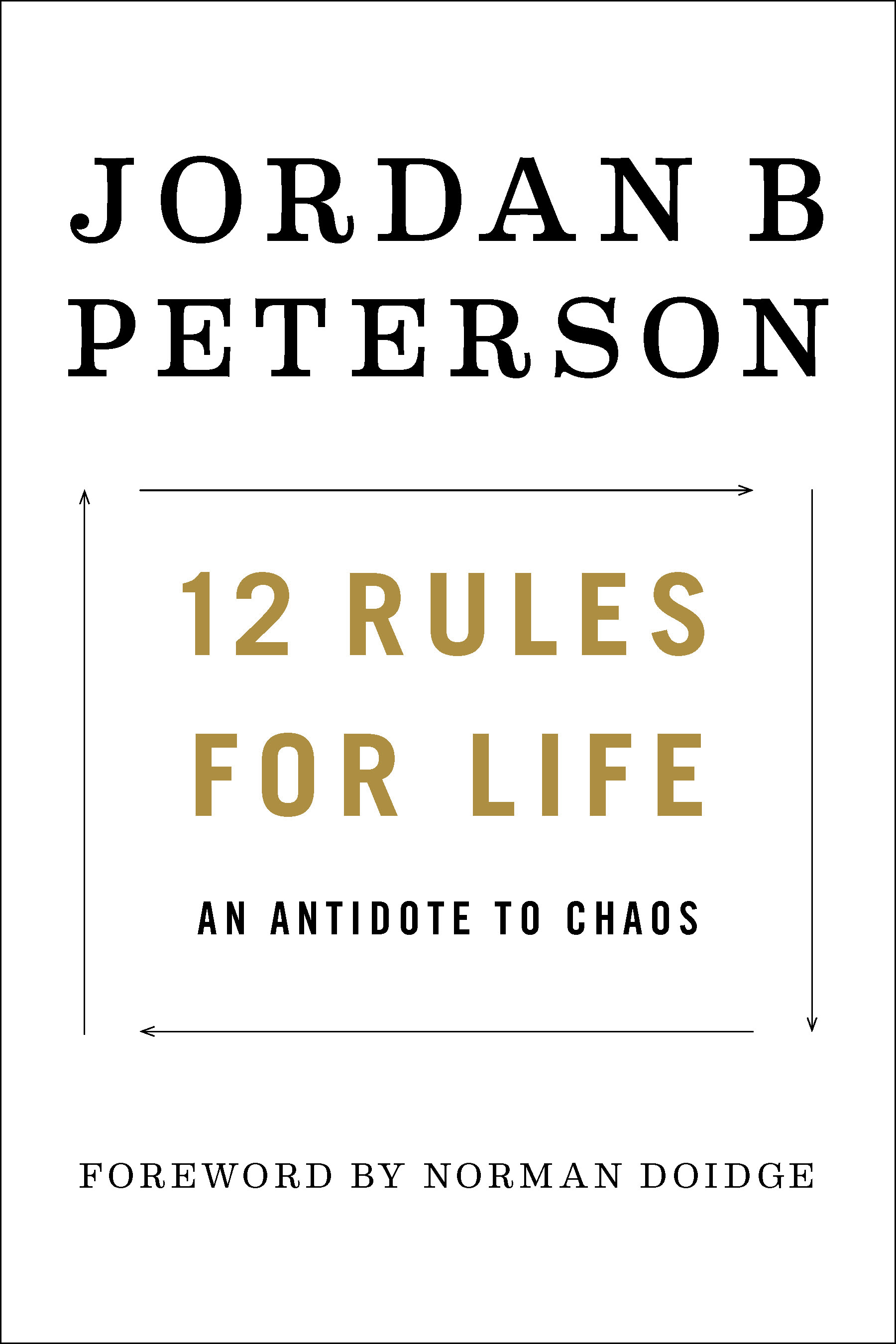 Toronto Event: 12 Rules for Life: An Antidote to Chaos